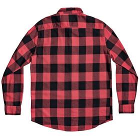 Quiksilver Motherfly Longsleeve Shirt Heren, americas red motherfly